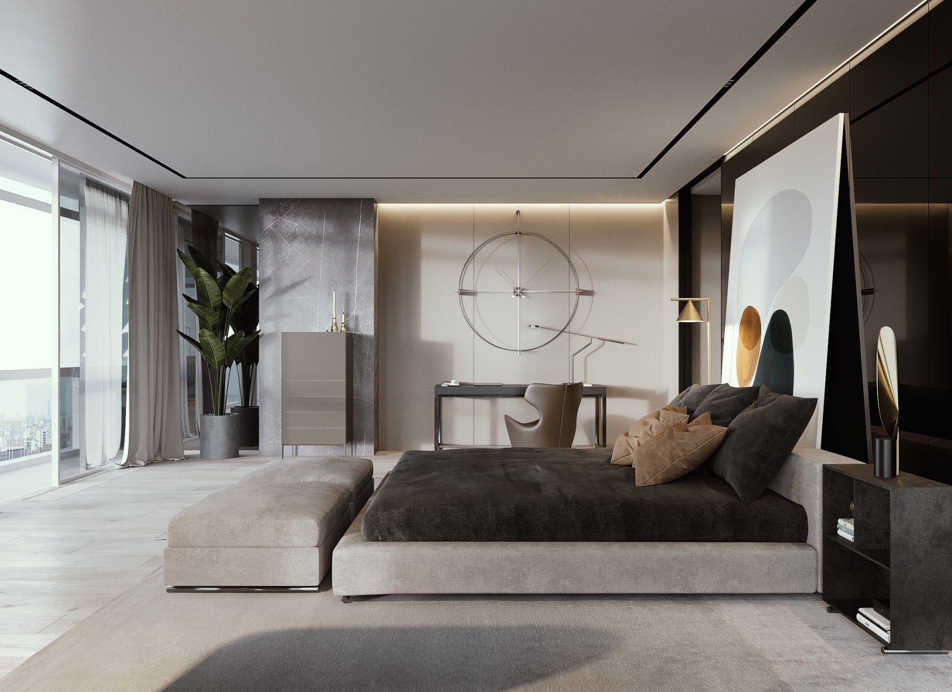 Best Minimalist Walk Closets Design Ideas For You03