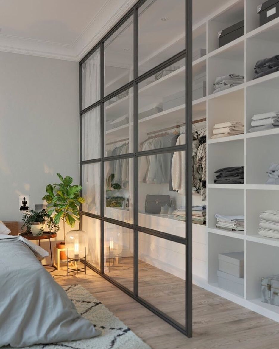 Best Minimalist Walk Closets Design Ideas For You05