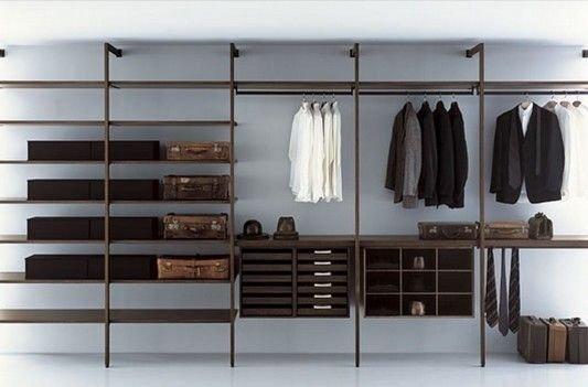 Best Minimalist Walk Closets Design Ideas For You13
