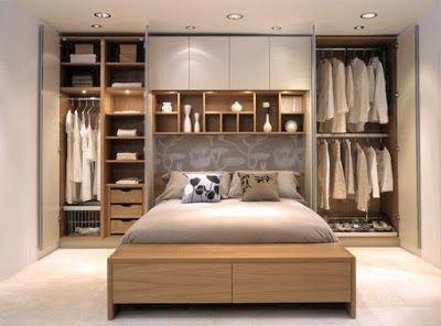 Best Minimalist Walk Closets Design Ideas For You14