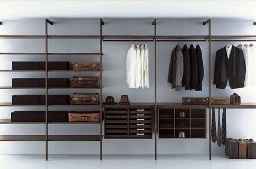 Best Minimalist Walk Closets Design Ideas For You35