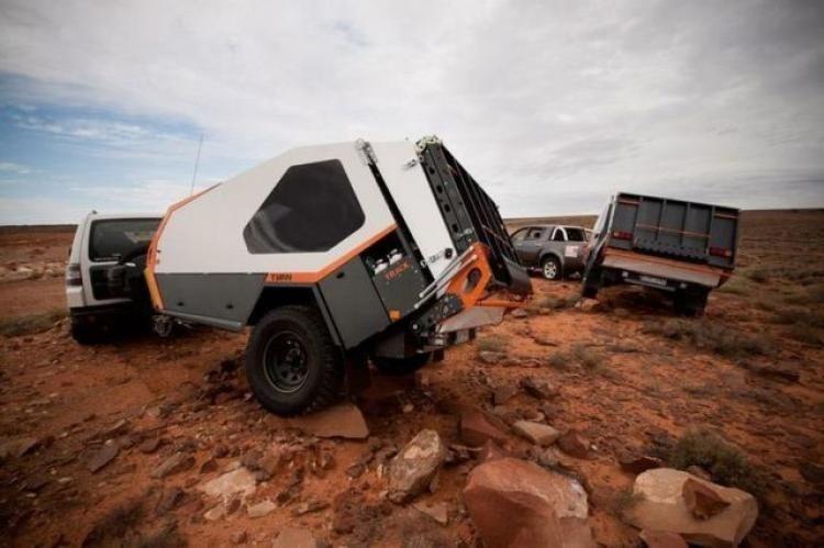 Best Tvan Camper Hybrid Trailer Gallery Ideas04
