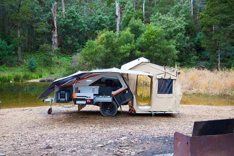 Best Tvan Camper Hybrid Trailer Gallery Ideas08