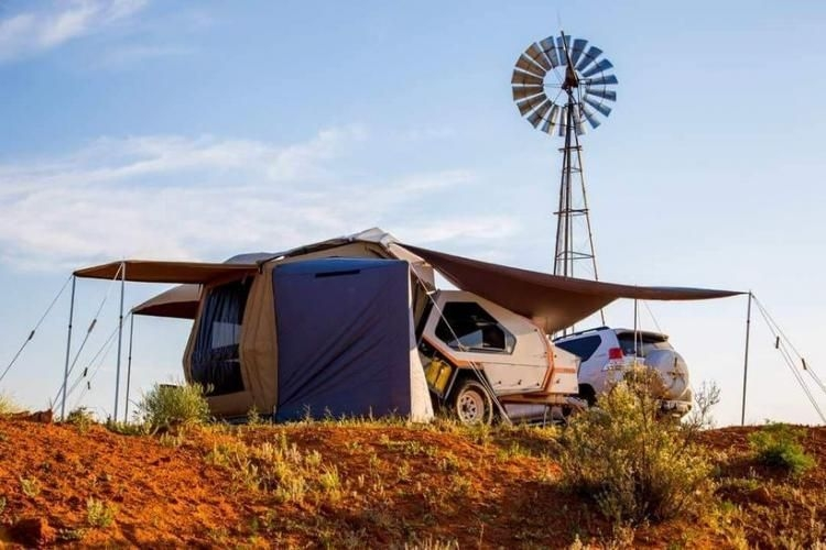 Best Tvan Camper Hybrid Trailer Gallery Ideas19