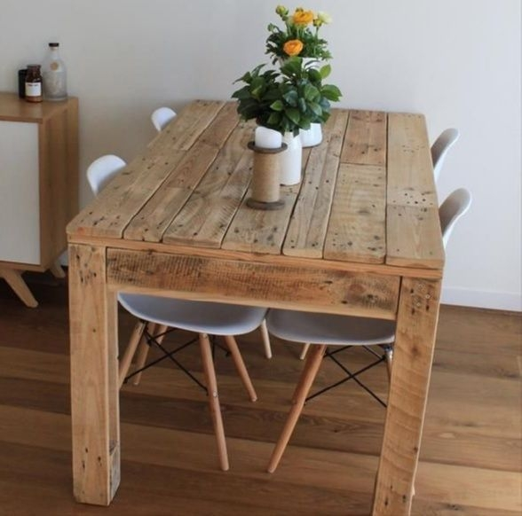 Charming Diy Wooden Dining Table Design Ideas For You09