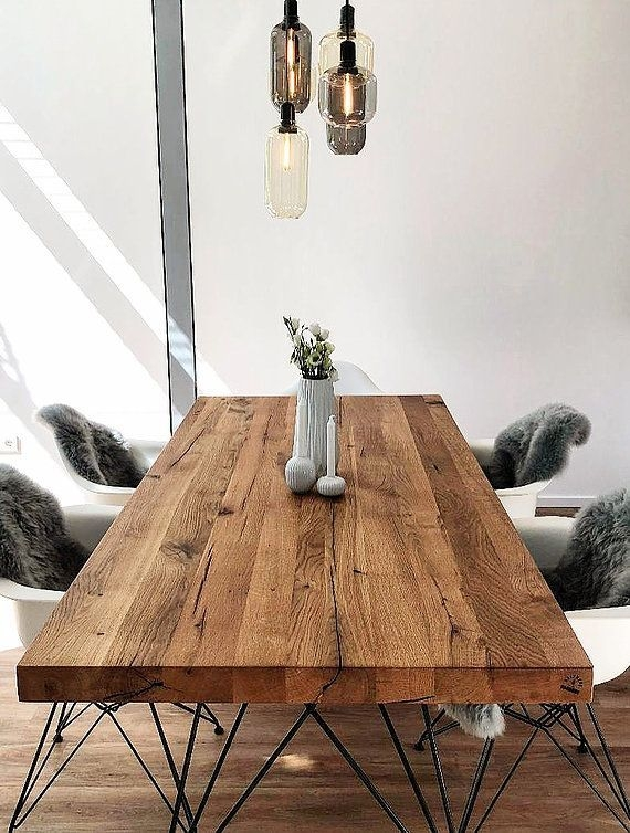 Charming Diy Wooden Dining Table Design Ideas For You12