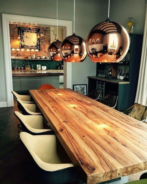 Charming Diy Wooden Dining Table Design Ideas For You14