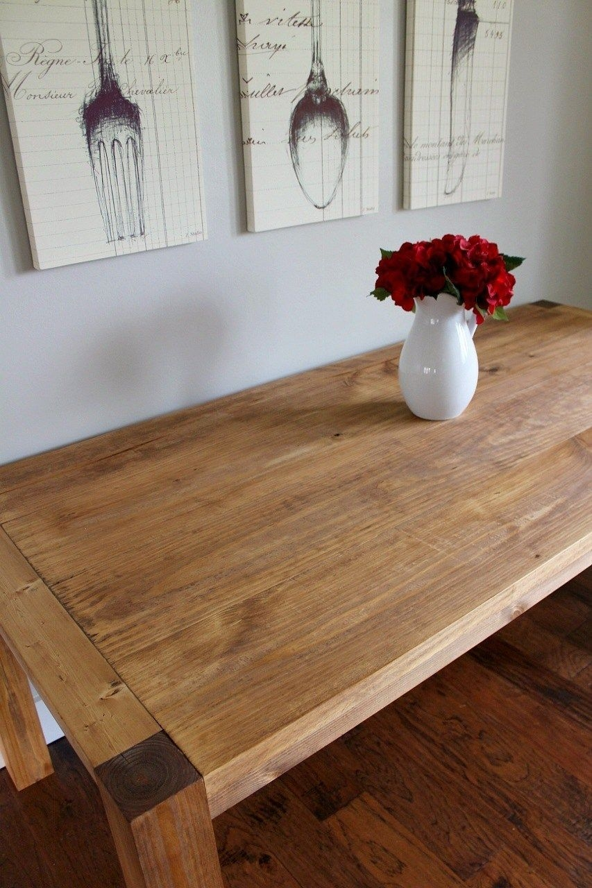 Charming Diy Wooden Dining Table Design Ideas For You20