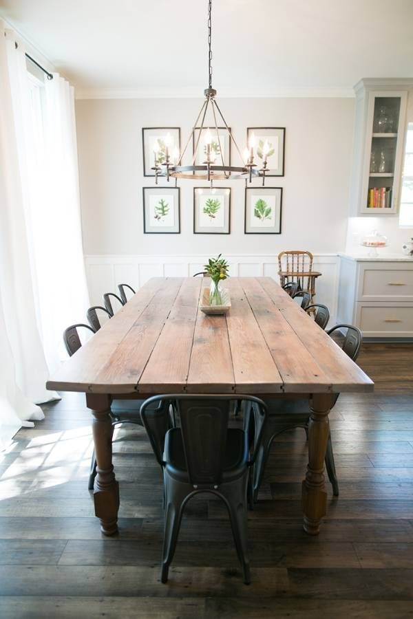 Charming Diy Wooden Dining Table Design Ideas For You22