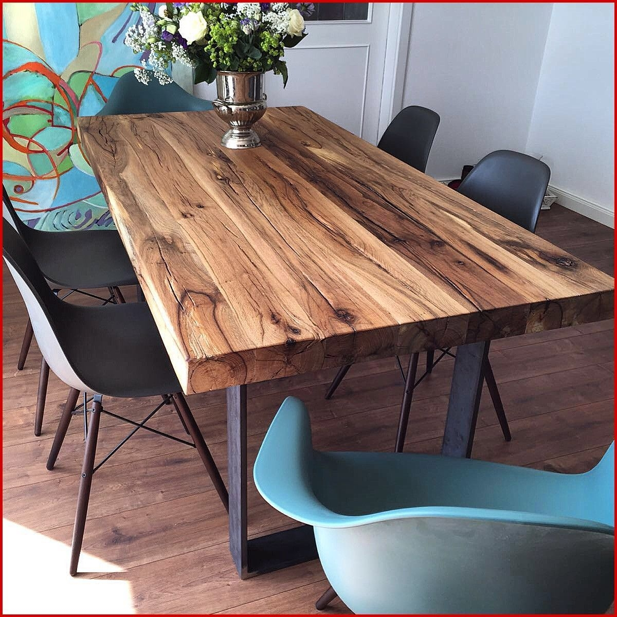 Charming Diy Wooden Dining Table Design Ideas For You23