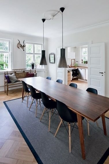 Charming Diy Wooden Dining Table Design Ideas For You32