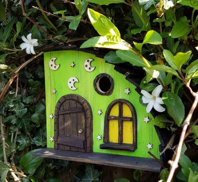 Elegant Bird House Ideas For Your Backyard Space12