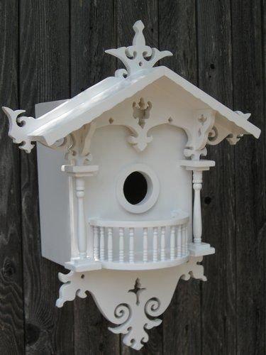 Elegant Bird House Ideas For Your Backyard Space16