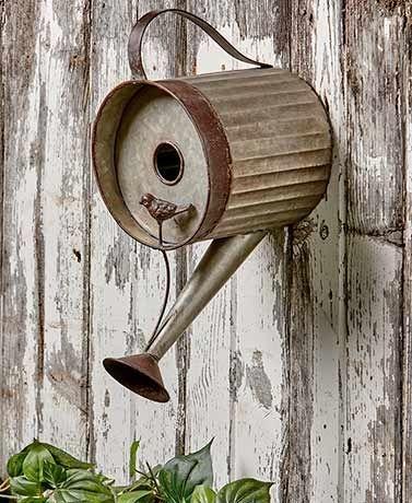 Elegant Bird House Ideas For Your Backyard Space26