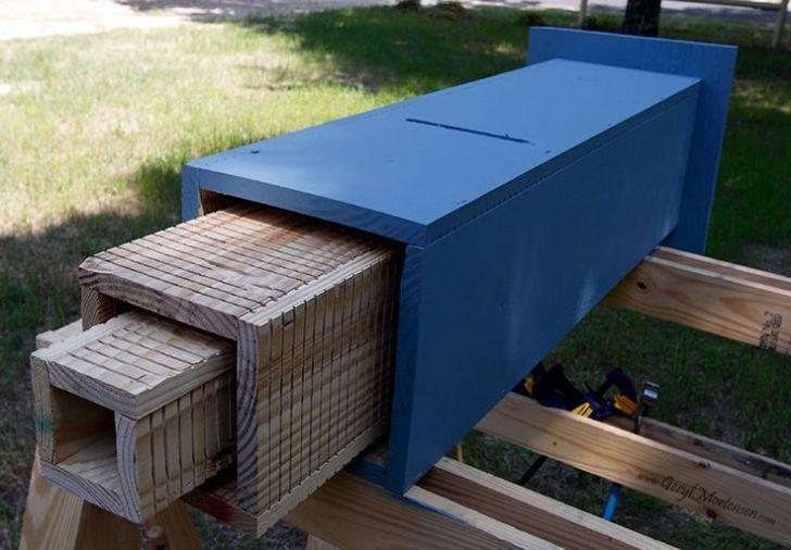 Elegant Bird House Ideas For Your Backyard Space27