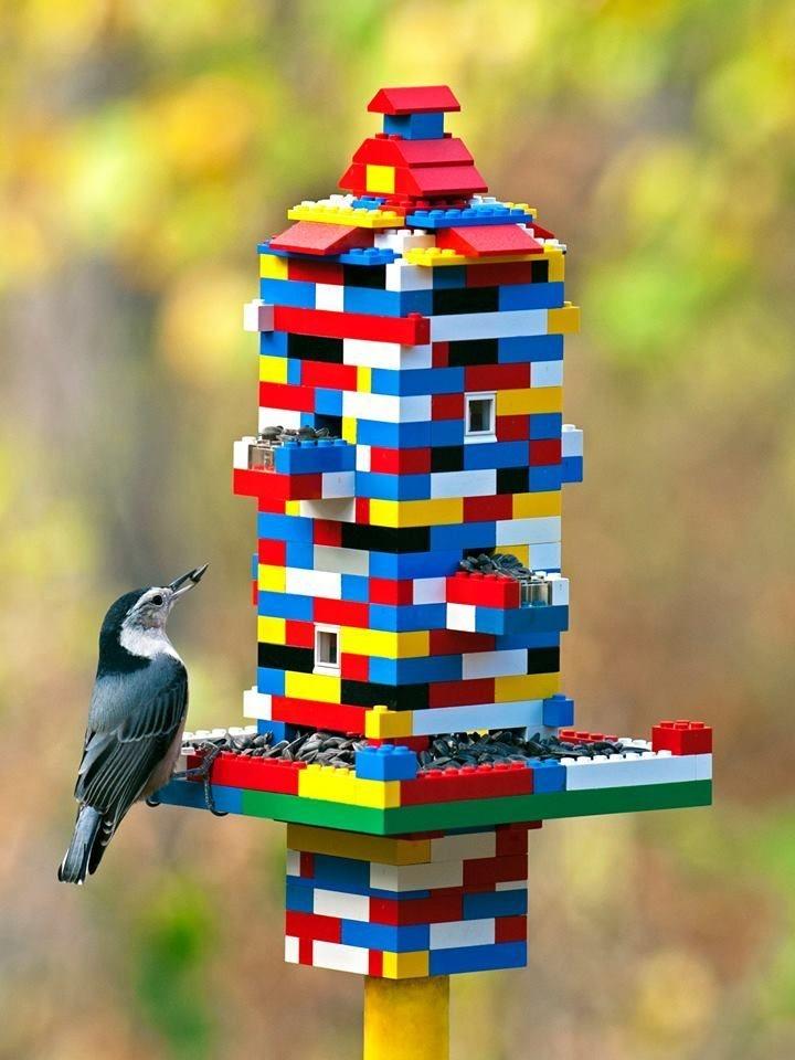 Elegant Bird House Ideas For Your Backyard Space40