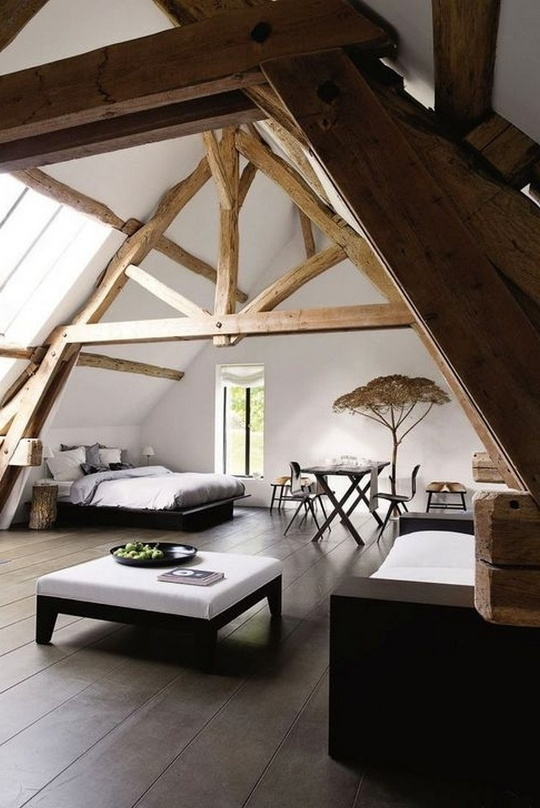 Fabulous Attic Design Ideas To Try This Year23