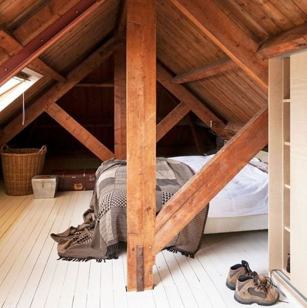Fabulous Attic Design Ideas To Try This Year35