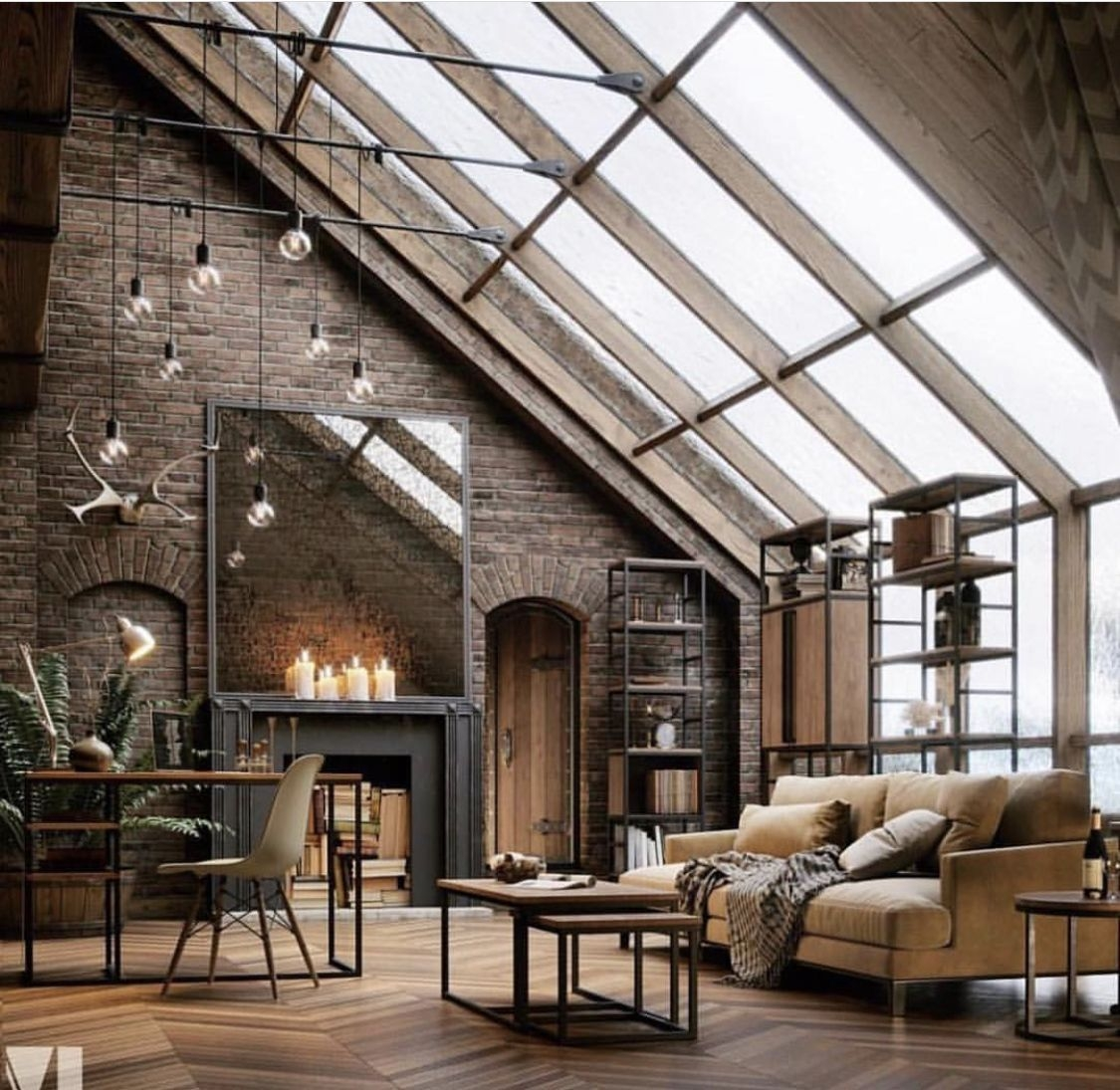 Gorgeous Natural Home Light Architecture Design Ideas02