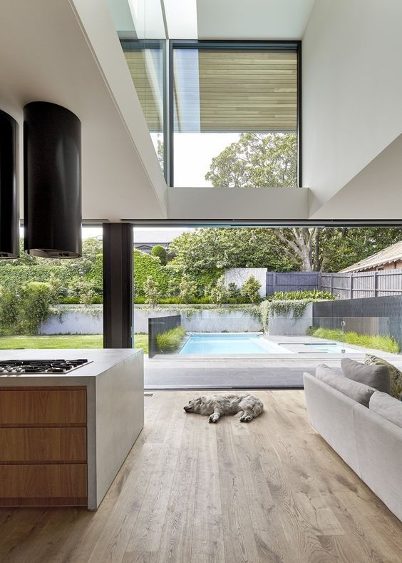 Gorgeous Natural Home Light Architecture Design Ideas09