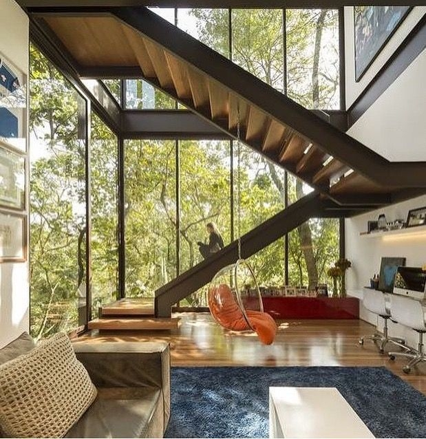 Gorgeous Natural Home Light Architecture Design Ideas11