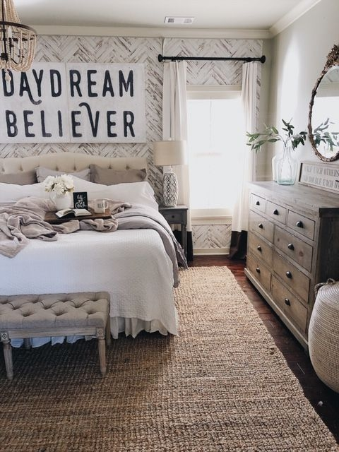 Magnificient Farmhouse Bedroom Decor Ideas To Try Now04