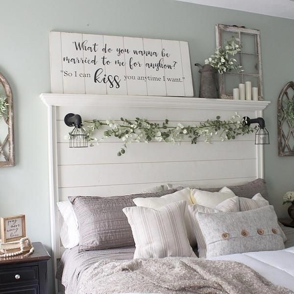 Magnificient Farmhouse Bedroom Decor Ideas To Try Now07