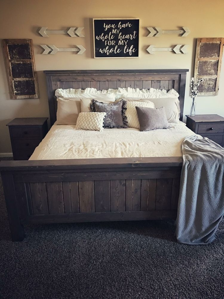 Magnificient Farmhouse Bedroom Decor Ideas To Try Now24