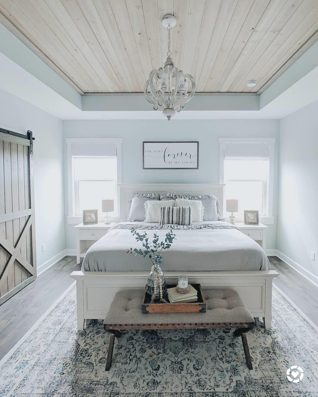Magnificient Farmhouse Bedroom Decor Ideas To Try Now29