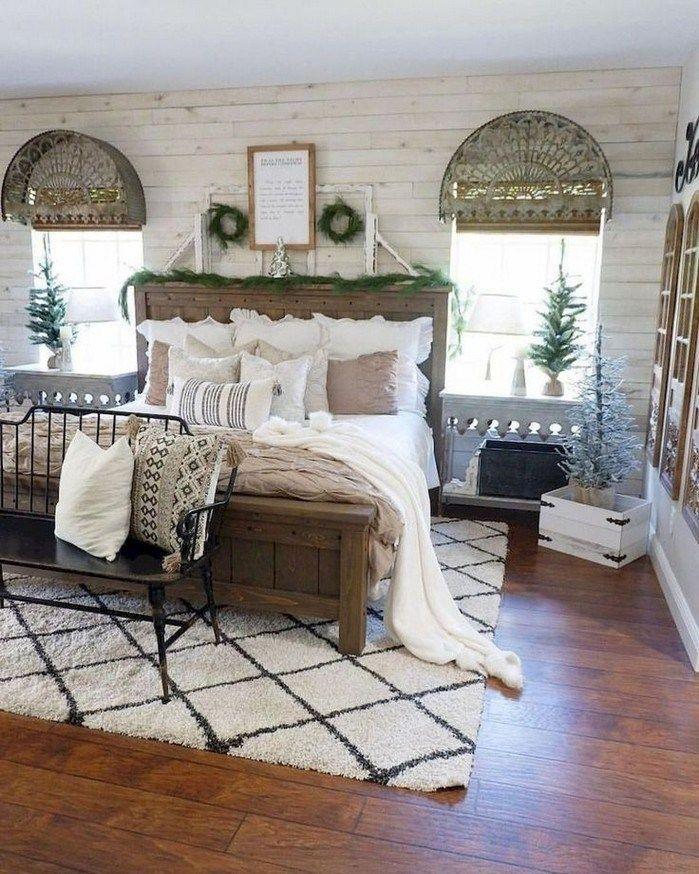 Magnificient Farmhouse Bedroom Decor Ideas To Try Now35