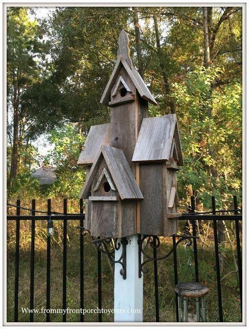 Magnificient Stand Bird House Ideas For Garden03