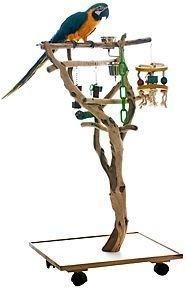 Magnificient Stand Bird House Ideas For Garden23
