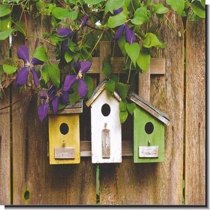 Magnificient Stand Bird House Ideas For Garden36
