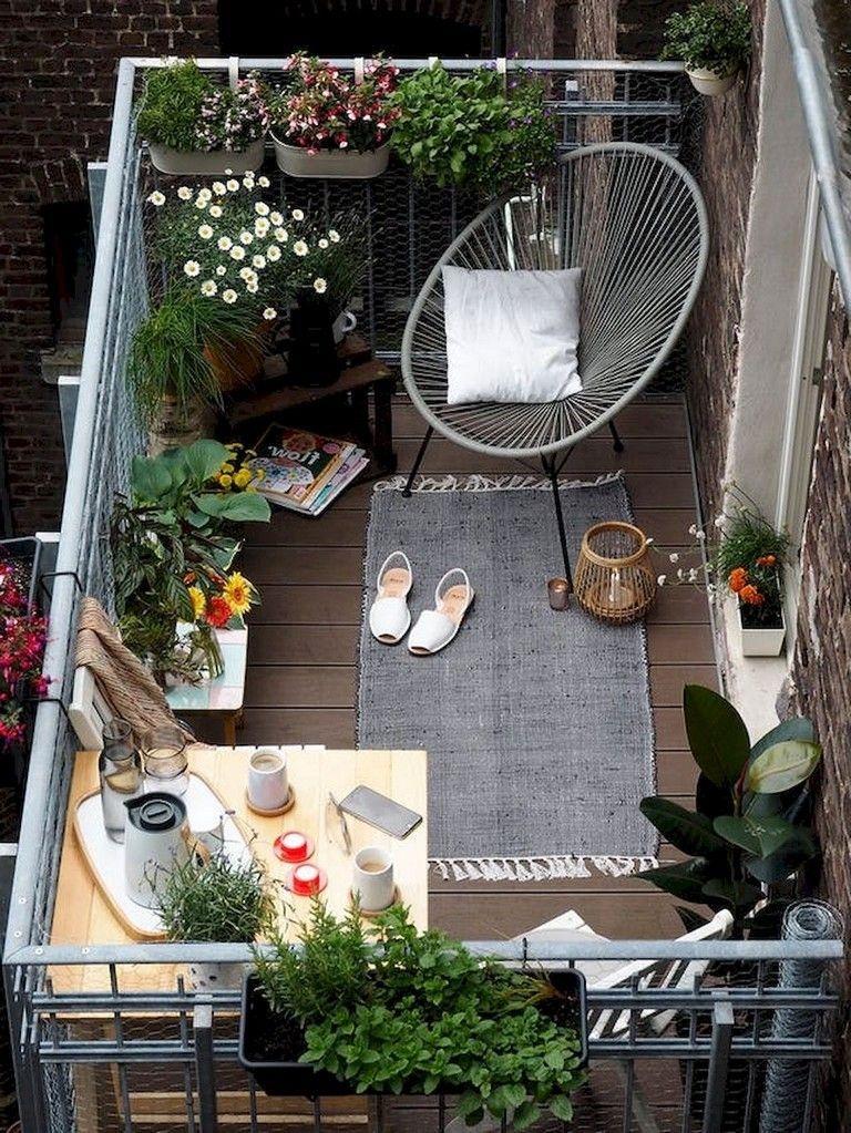 Popular Small Apartment Balcony Decor Ideas For You03