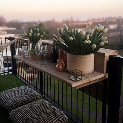 Popular Small Apartment Balcony Decor Ideas For You04