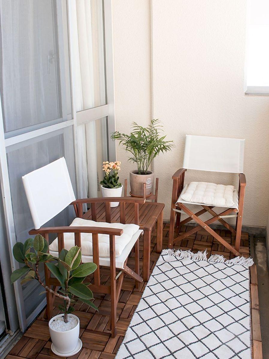 Popular Small Apartment Balcony Decor Ideas For You16