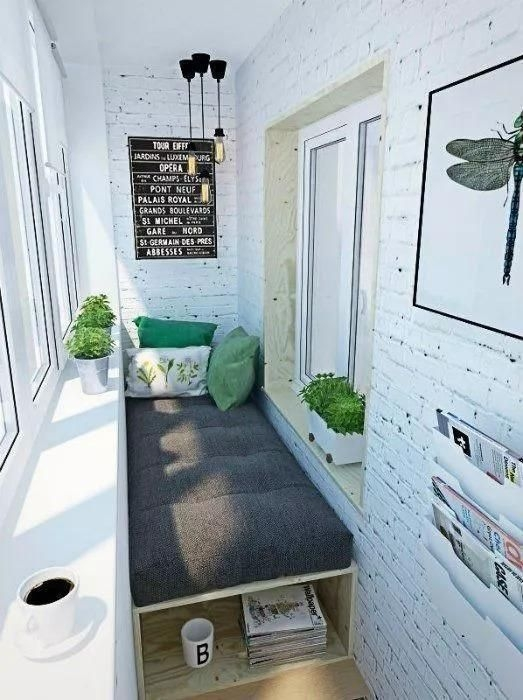 Popular Small Apartment Balcony Decor Ideas For You20