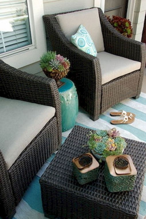 Popular Small Apartment Balcony Decor Ideas For You27