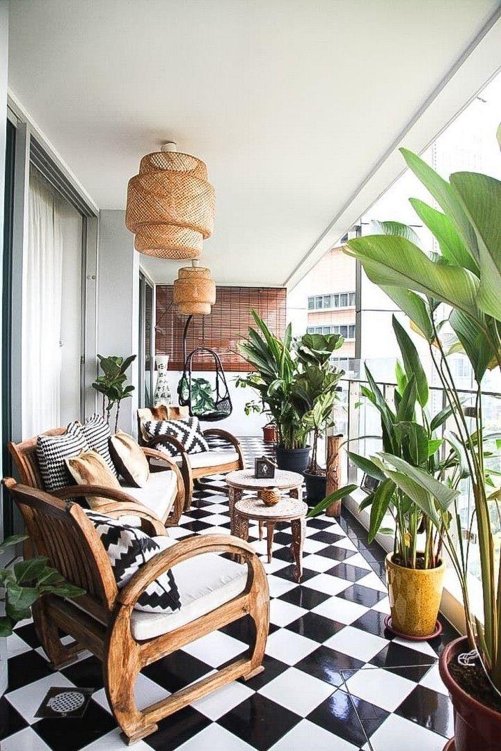 Popular Small Apartment Balcony Decor Ideas For You36