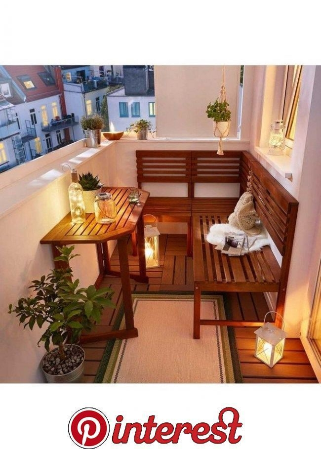 Popular Small Apartment Balcony Decor Ideas For You39