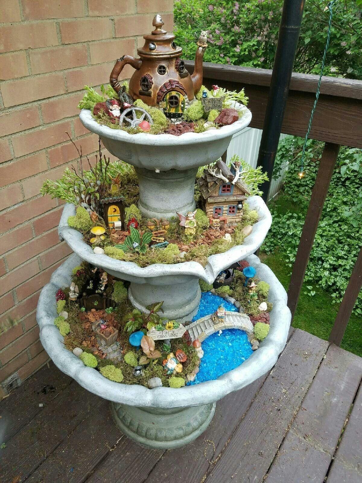Pretty Fairy Garden Design Ideas To Try04