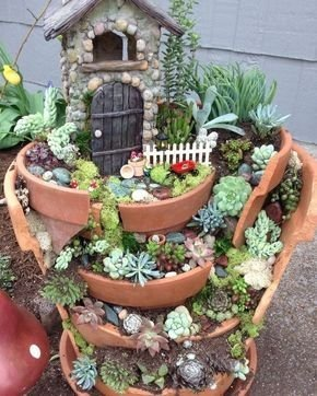 Pretty Fairy Garden Design Ideas To Try07