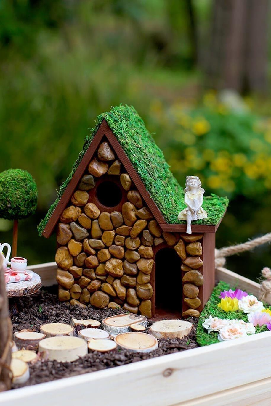 Pretty Fairy Garden Design Ideas To Try14