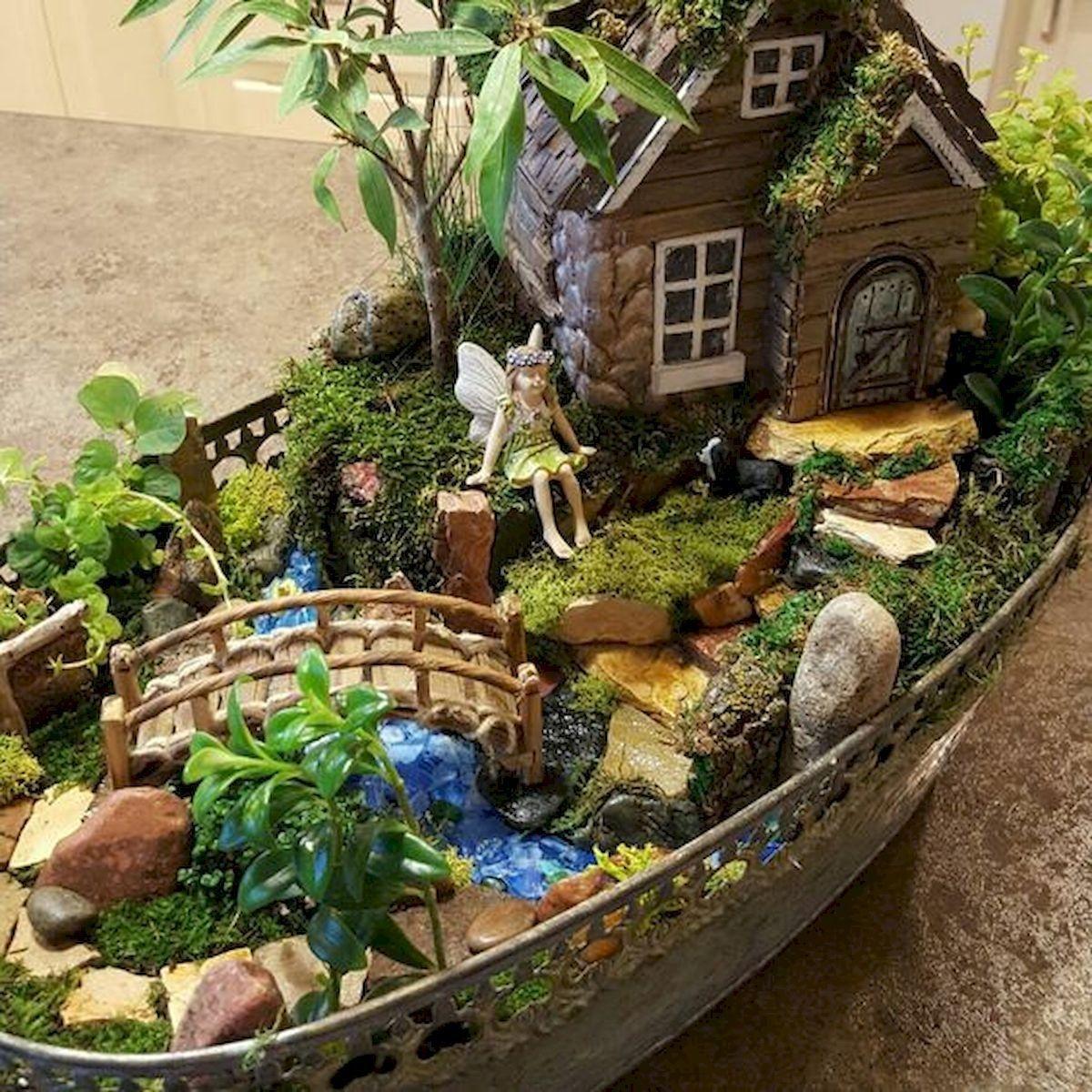 Pretty Fairy Garden Design Ideas To Try20