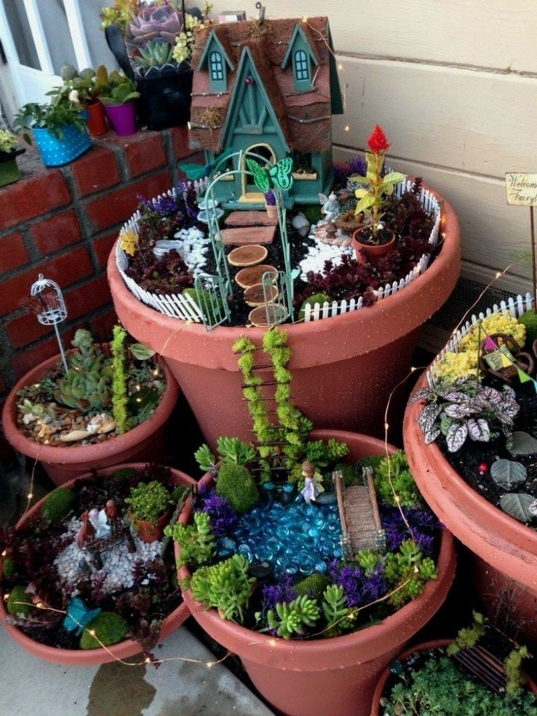 Pretty Fairy Garden Design Ideas To Try21
