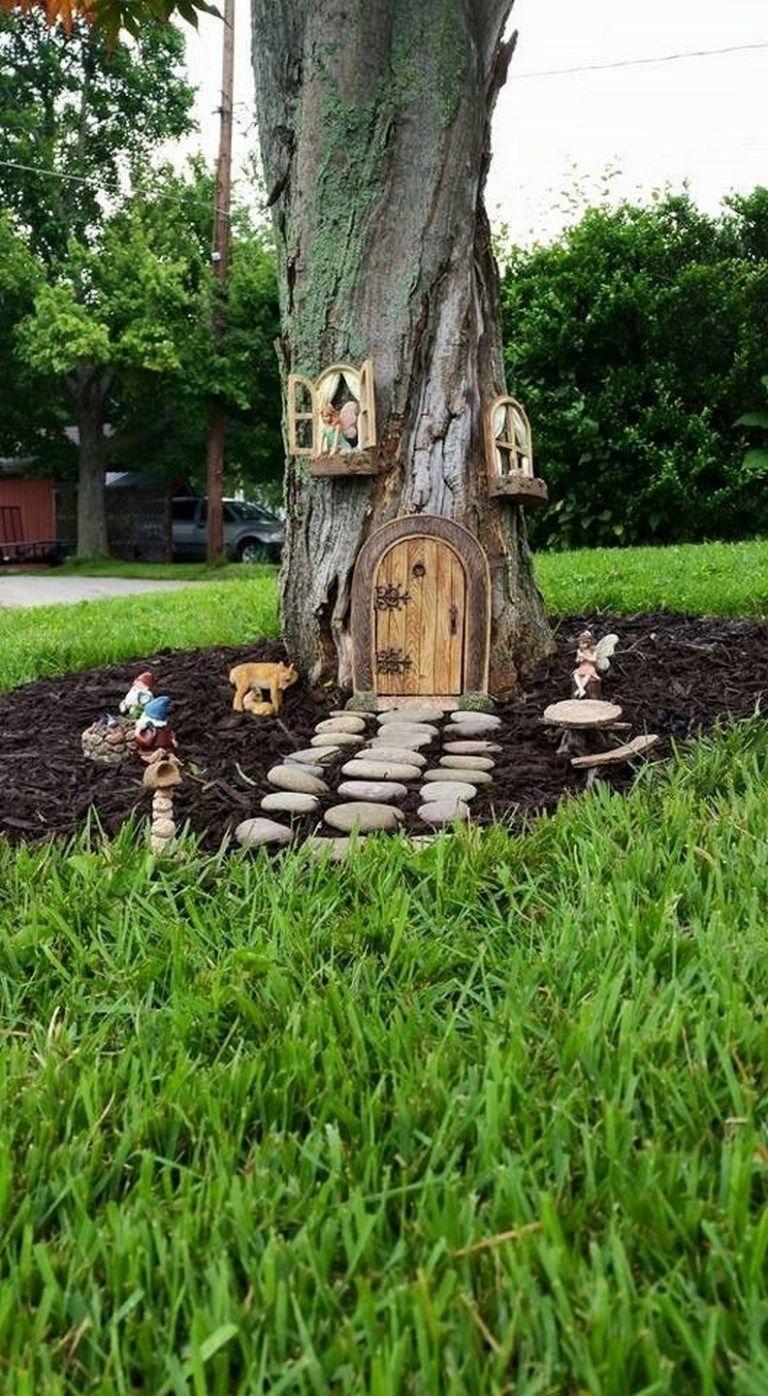 Pretty Fairy Garden Design Ideas To Try24