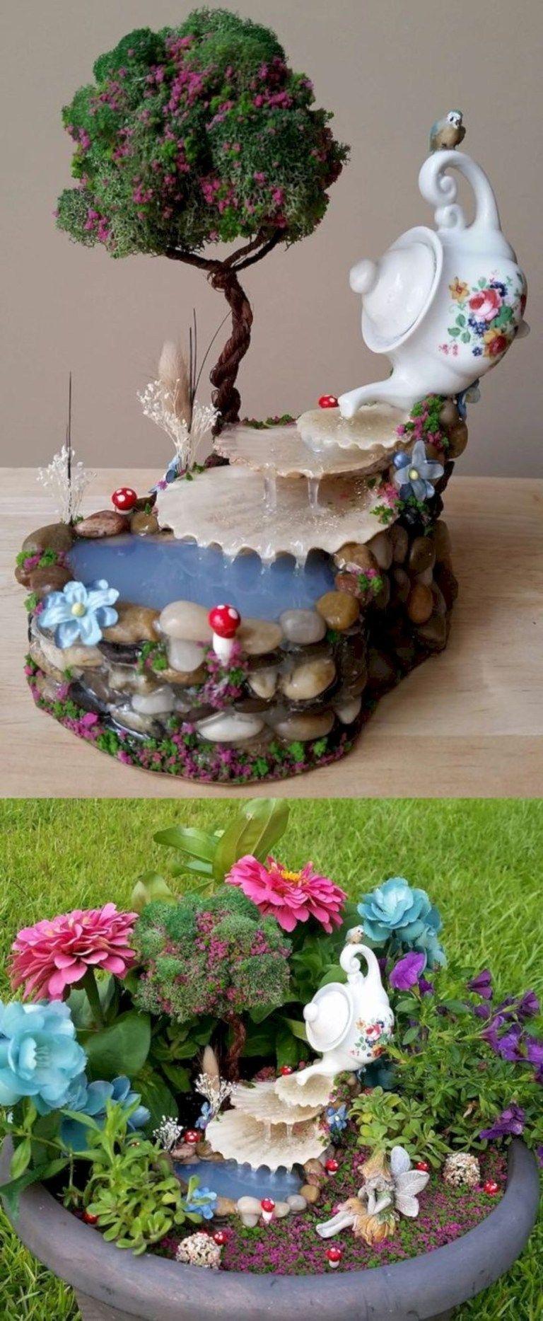 Pretty Fairy Garden Design Ideas To Try25