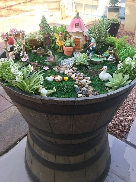 Pretty Fairy Garden Design Ideas To Try29