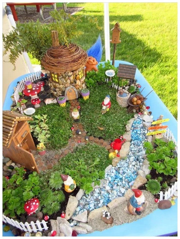 Pretty Fairy Garden Design Ideas To Try30