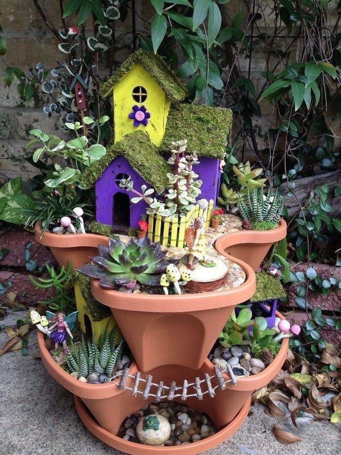 Pretty Fairy Garden Design Ideas To Try31